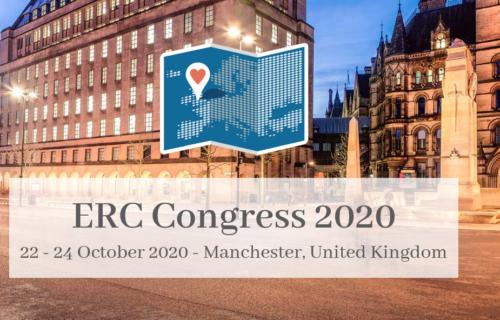 ERC Kongres 2020 den 22.-24. oktober i Manchester